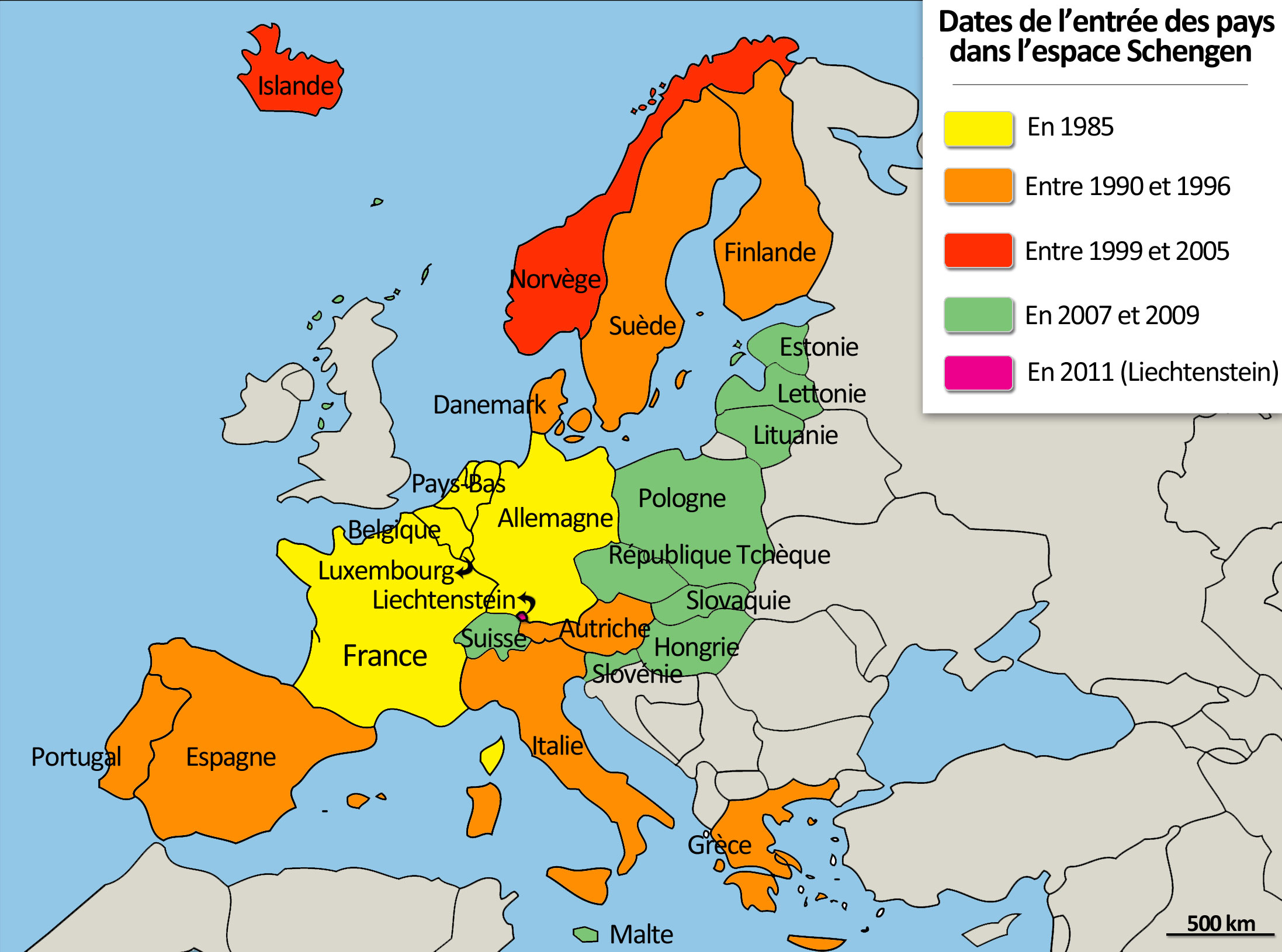 Schengen countries. Features of the Schengen Agreement 91